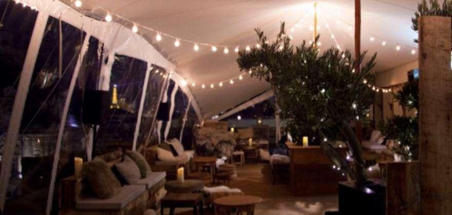 Les terrasses chauffées et couvertes à moins de 20 minutes de l'HOTEL HOR.
