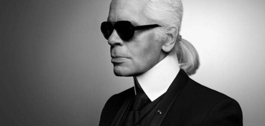Karl Lagerfeld, a visual journey