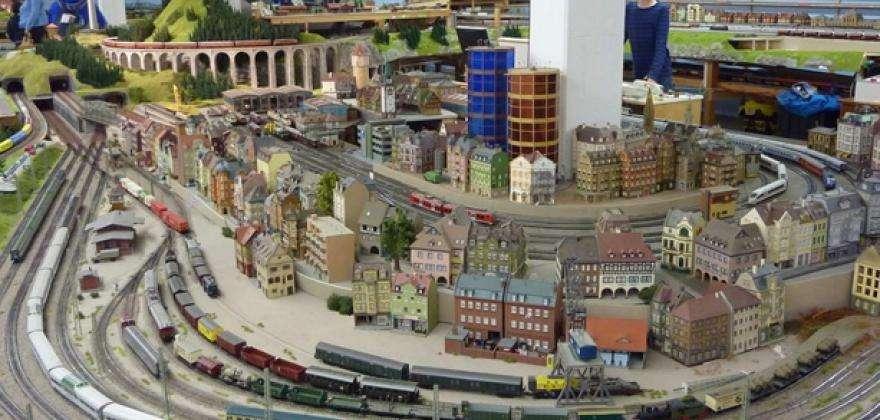 Visiter les réseaux miniatures de la Gare de l'Est