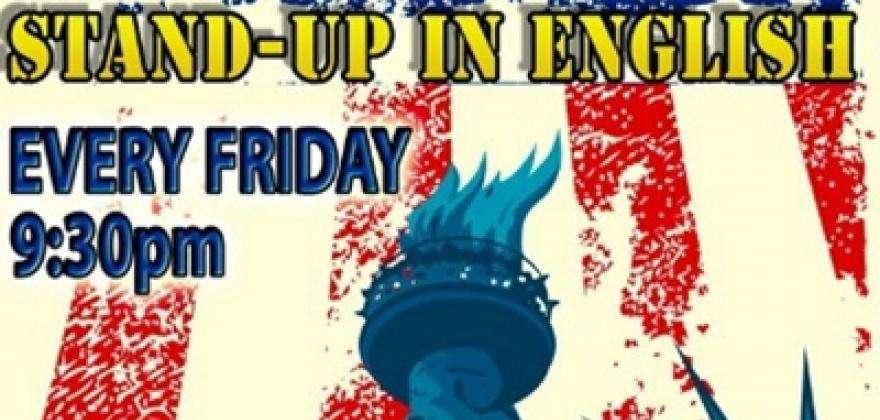 Le New York Comedy Night Stand up comédie, 100% anglais