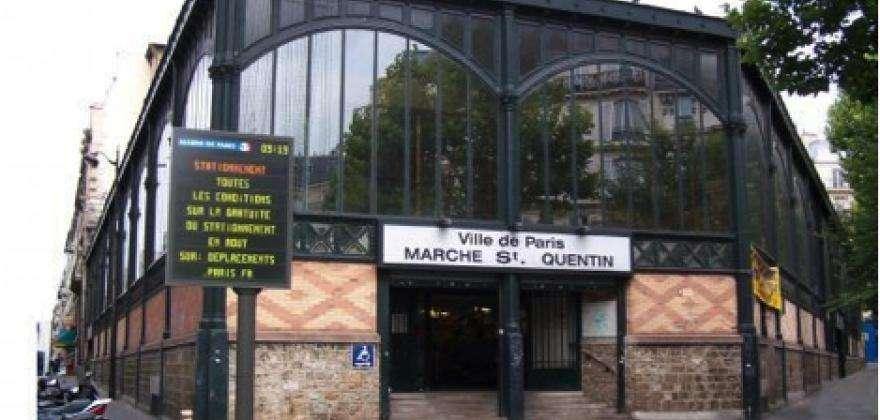Le marché couvert de Saint Quentin : « LE » marché alimentaire parisien
