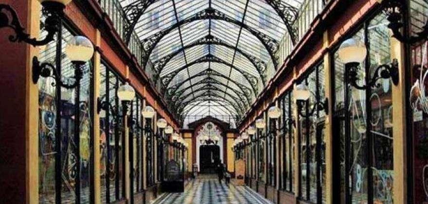 Covered passages of Paris