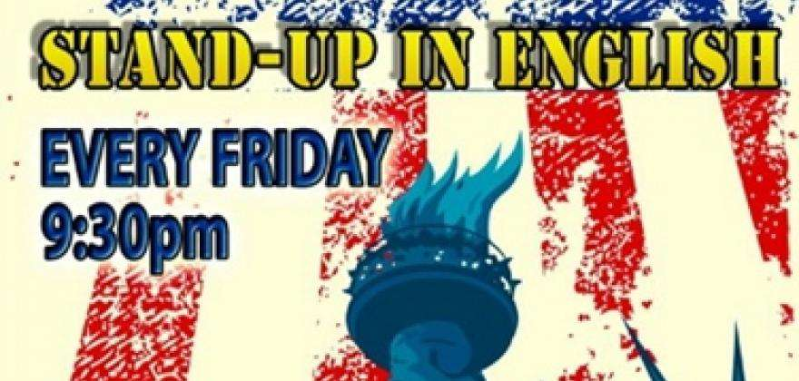 The New York Comedy Night Stand up, 100% English