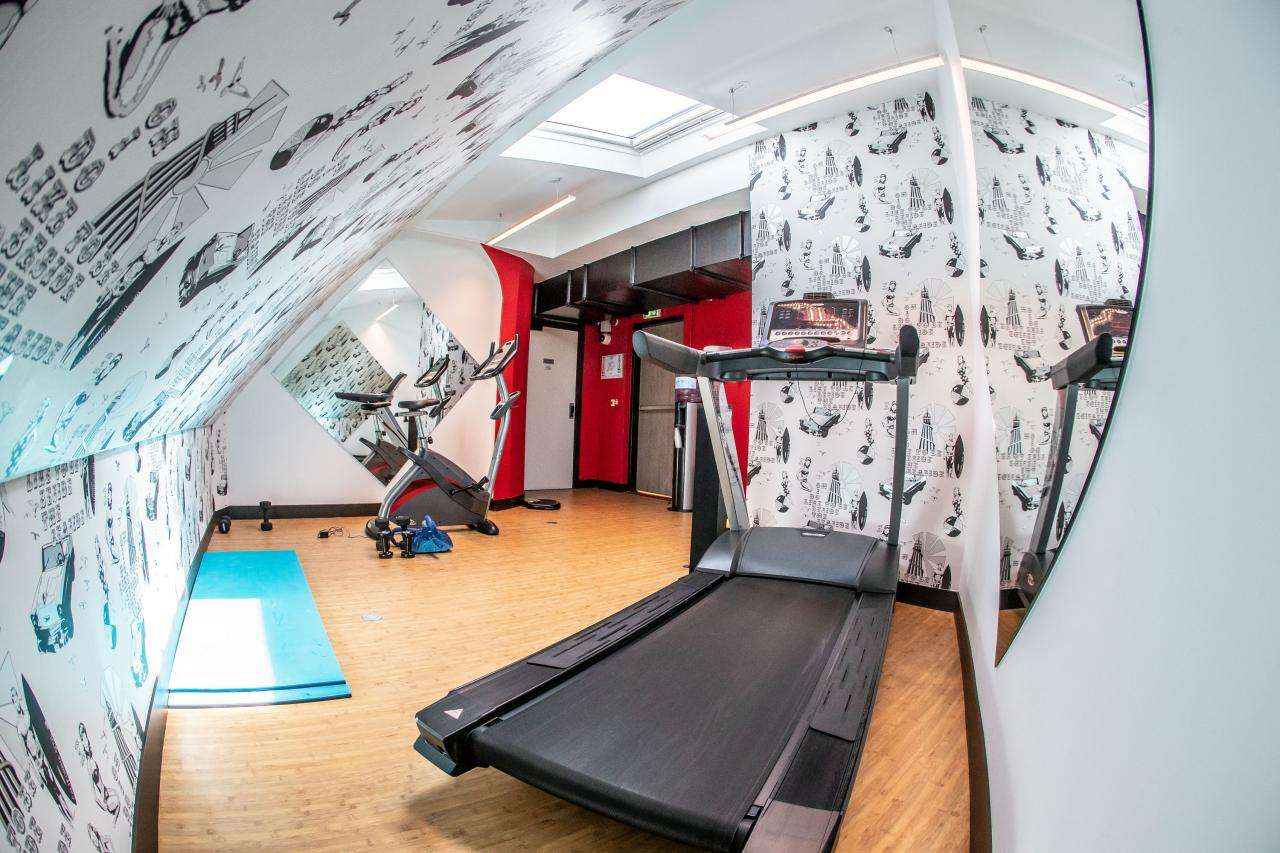 Hôtel Hor Europe - fitness